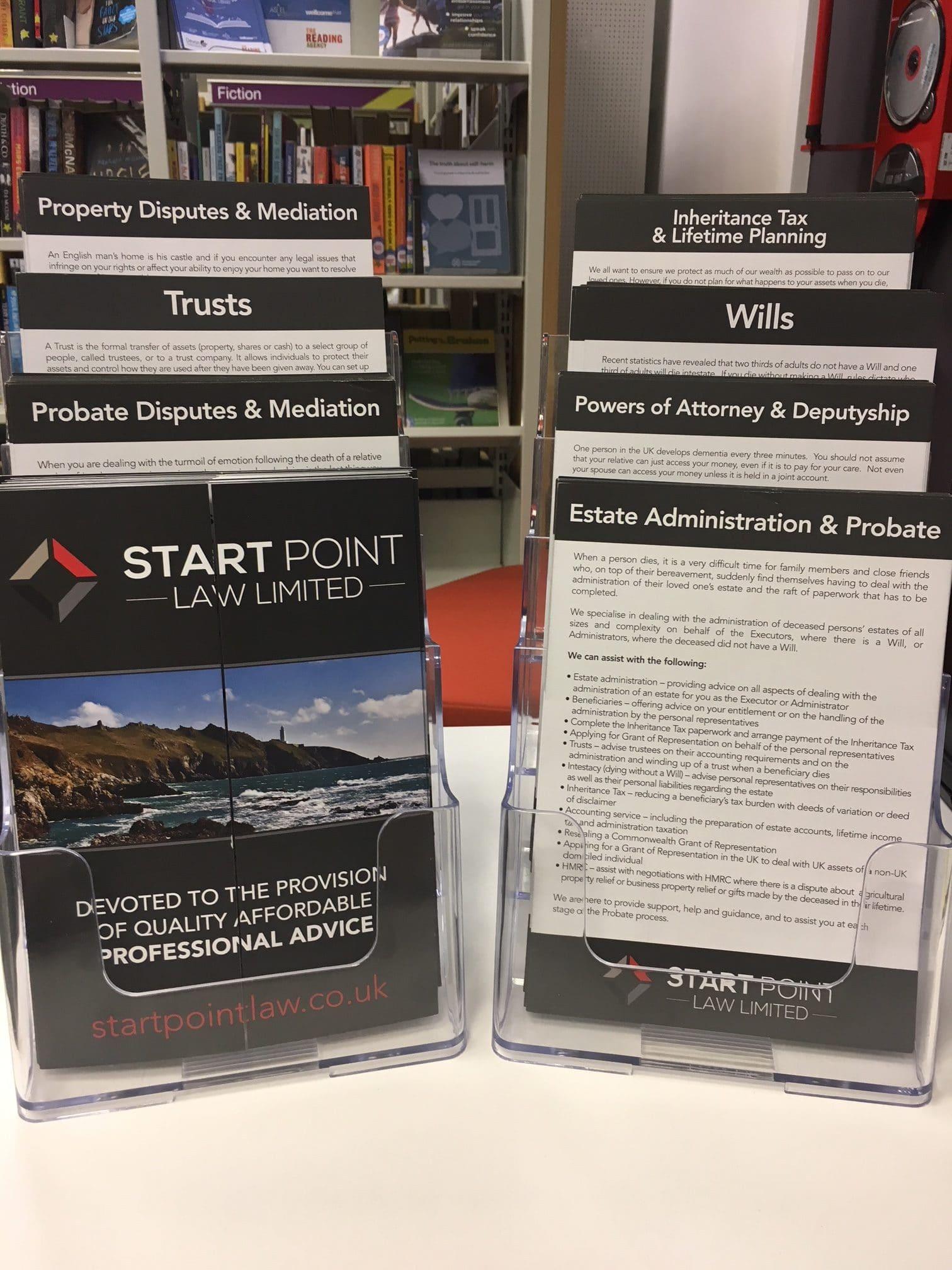 Free legal clinic Kingsbridge – Start Point Law